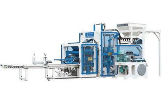 QTF10-15 Brick Making Machine