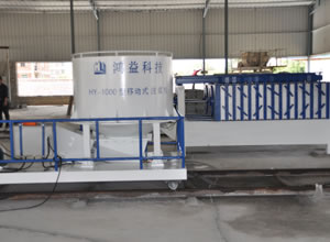 Horizontal EPS Sandwich Panel Production Line