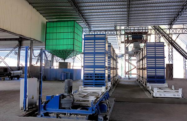 Split Type Vertical EPS Light Weight Wall Panel Production Line