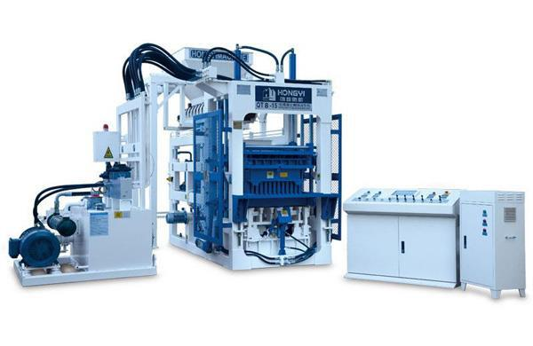 QT8-15 Block Making Machine