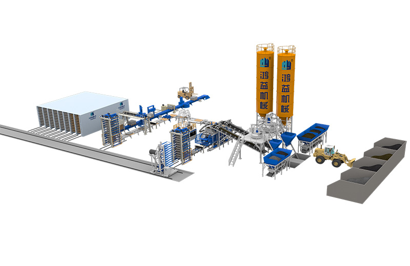 Full-automatic Block Production Line
