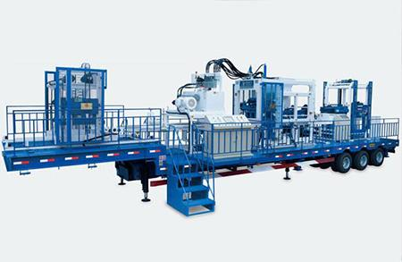 Mobile Block Making Production Line